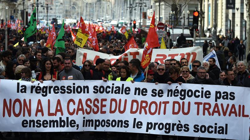 Contestation de la loi travail : la démonstration de force de la CGT