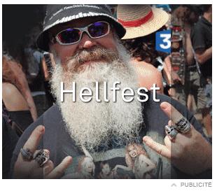 France 3 fait la promotion du Hellfest...