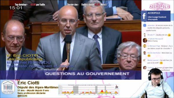 """Eric Ciotti veut que les députés """"Macron compatibles"""" quittent LR"""