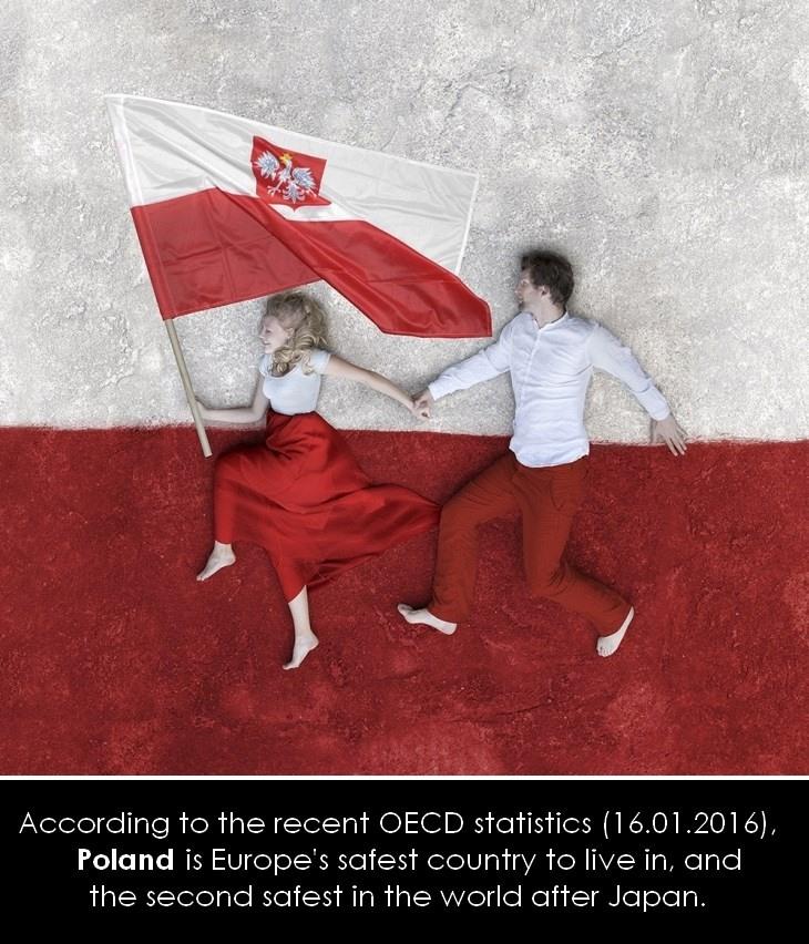 D'après l'OCDE, le Japon et la Pologne sont les pays les plus sûrs du monde