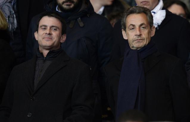 Valls et Sarkozy