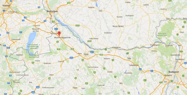 autoroute M1 Hongrie