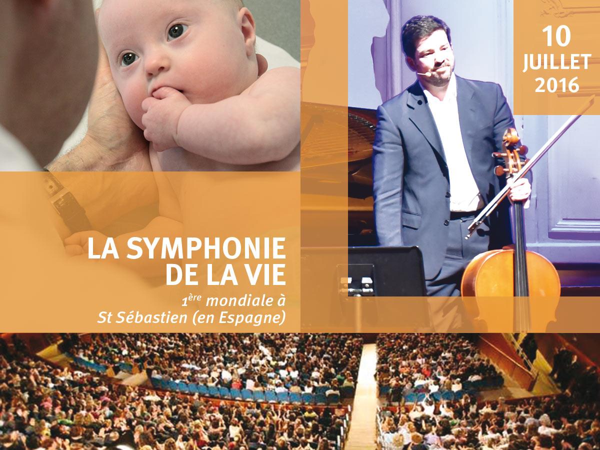 Première mondiale de la Symphonie de la Vie en hommage au professeur Lejeune