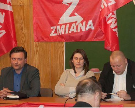 Ludmila Dobrzyniecka avec Mateusz Piskorski