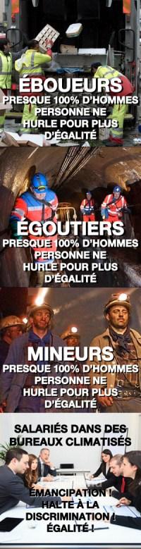 mineurs-éboueurs-égoutiers-égalité-des-sexes