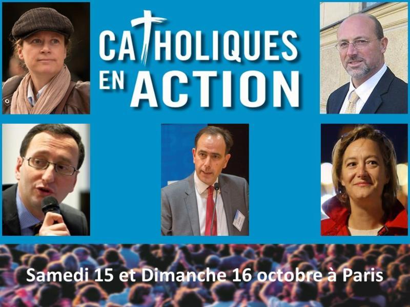 """Colloque """"Catholiques en Action"""" : Refaire le politique (vidéo)"""