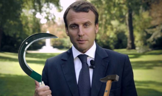 Macron : un faux candidat anti-système