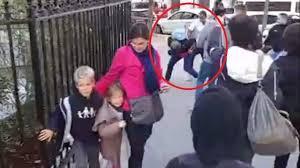 Un père de famille se rendant à la Manif pour Tous se fait agresser par des contre-manifestants d'extrême gauche