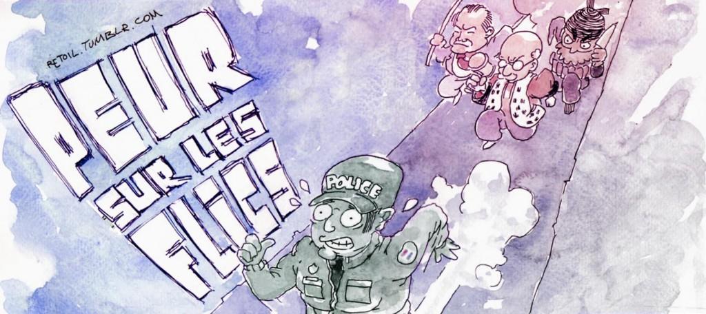 La peur doit changer de camp : soutenons les policiers !