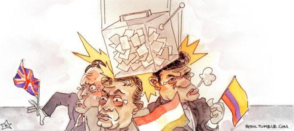 D'un référendum l'autre… de Budapest à Bogota…