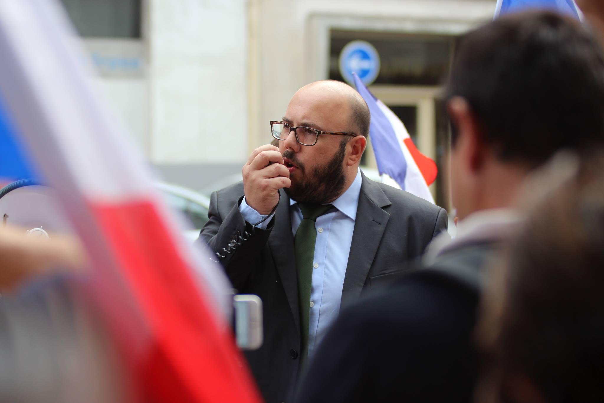 """Philippe Vardon : """"Bellamy n'était qu'une façade, les électeurs l'ont trop bien compris"""" (VIDÉO)"""