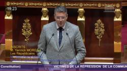 Yannick Moreau à la tribune de l'Assemblée : «Reconnaissez les crimes de la Terreur de 1793 contre la Vendée !»