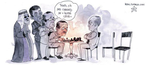 Poutine joue et gagne…