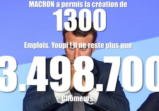 Macron, l'excitation du renoncement