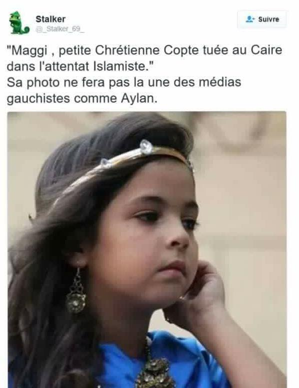 Maggi, la petite fille qui ne fera pas la Une des merdias