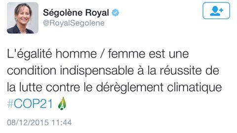 Ségolène Royal n'en rate pas une