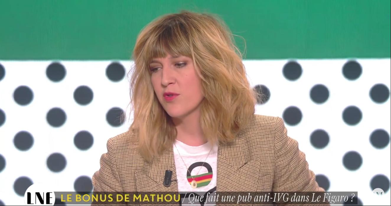 """Les animatrices et les métrosexuels de """"La Nouvelle Edition"""" (C8) choqués par une pub pour la Marche pour la vie"""