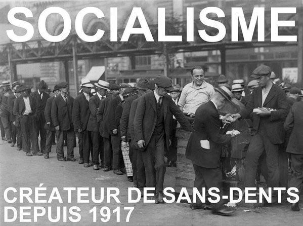 Le  chômage des jeunes, la faillite du socialisme français