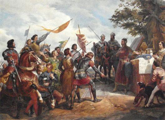 Focus sur la très importante bataille de Bouvines, qui marque la naissance du sentiment national français