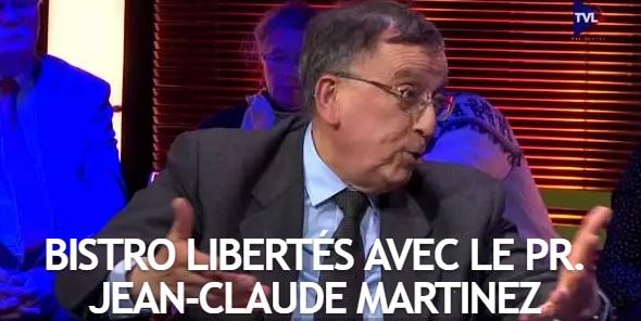 Bistro Libertés avec l'ancien député Jean-Claude Martinez