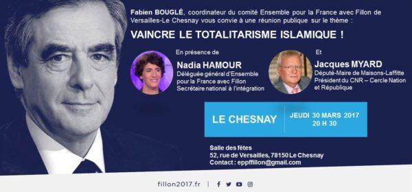 Invitation Le Chesnay Fillon