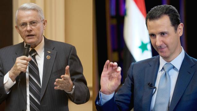 """Richard Black : """"Je défie quiconque de prouver que la Syrie a utilisé des armes chimiques"""""""