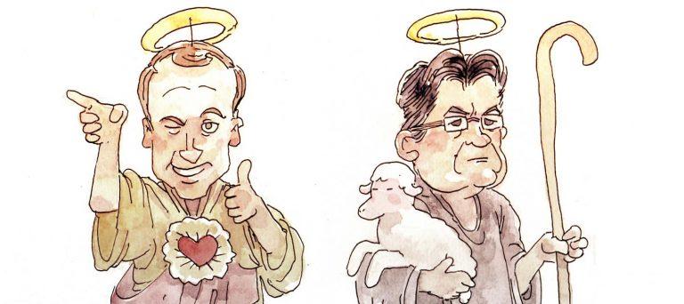 On ne sait pas qui est le candidat le plus chrétien, mais on sait qui ne l'est pas !