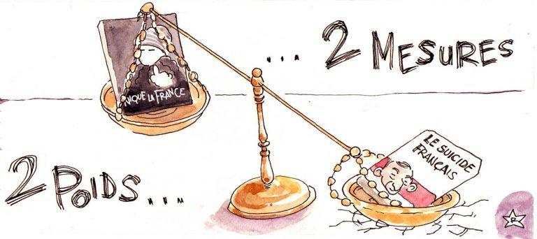 Zemmour Obono : 2 poids, 2 mesures !