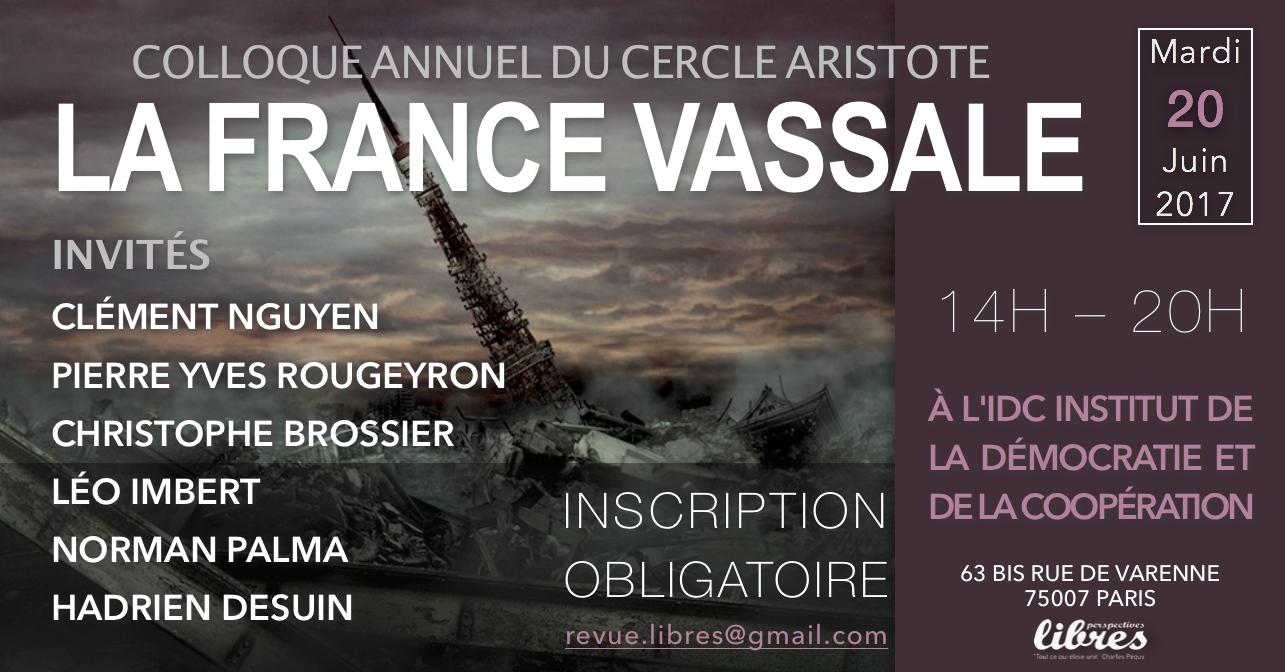 "La France Vassale : Christophe Brossier ""La France vassale des GAFA"""