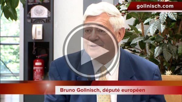 """Bruno Gollnisch (FN) : """"C'est un véritable scandale que nous ne puissions pas faire de groupe"""""""