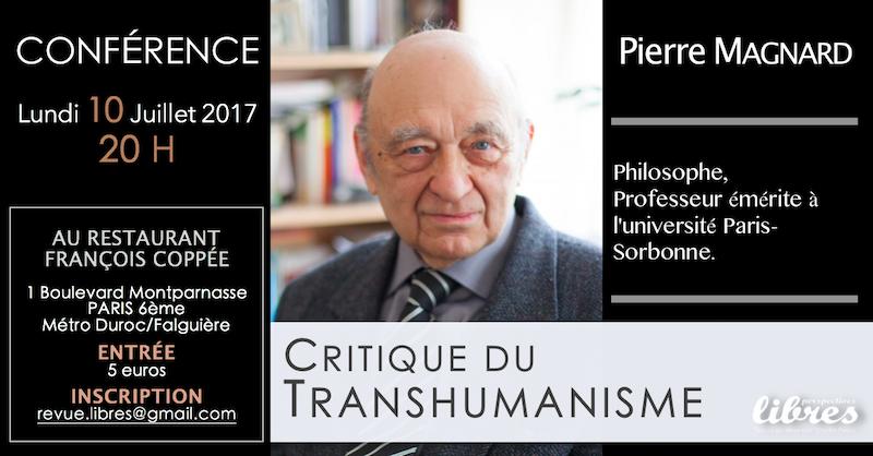 """Pierre Magnard : """"Déconstruire la déconstruction"""""""