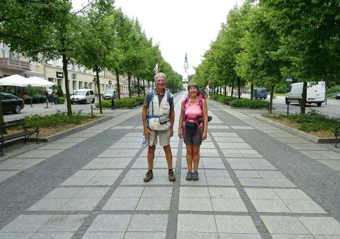 Plouhinec-Częstochowa, un pèlerinage à pied hors du commun par deux retraités bretons