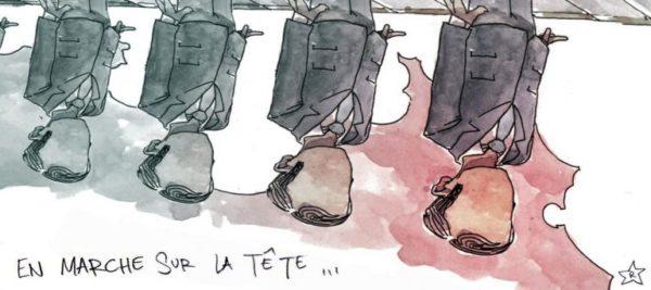 La France « en marche »… sur la tête !