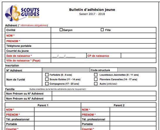 """Les Scouts de France parlent désormais de """"Parent 1"""" et de """"Parent 2"""""""