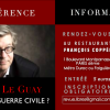"""Conférence de Damien Le Guay : """"Demain la guerre civile?"""""""