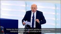 """Jean-Luc Schaffhauser : """"La Pologne a su résister à la barbarie nazie et au communisme, elle résistera au totalitarisme européen, vive la Pologne !"""""""