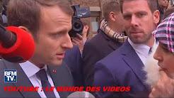 Quand Emmanuel Macron invite une femme marocaine à rentrer dans son pays