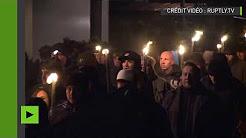 Allemagne : des néonazis marchent à Wunsiedel pour commémorer un proche d'Hitler