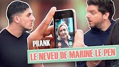 Pranque : Le neveu de Marine Le Pen