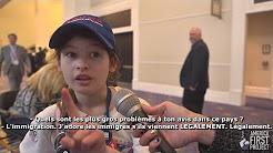 Une enfant pro-Trump de 12 ans estime que l'immigration est le plus gros problème des États-Unis