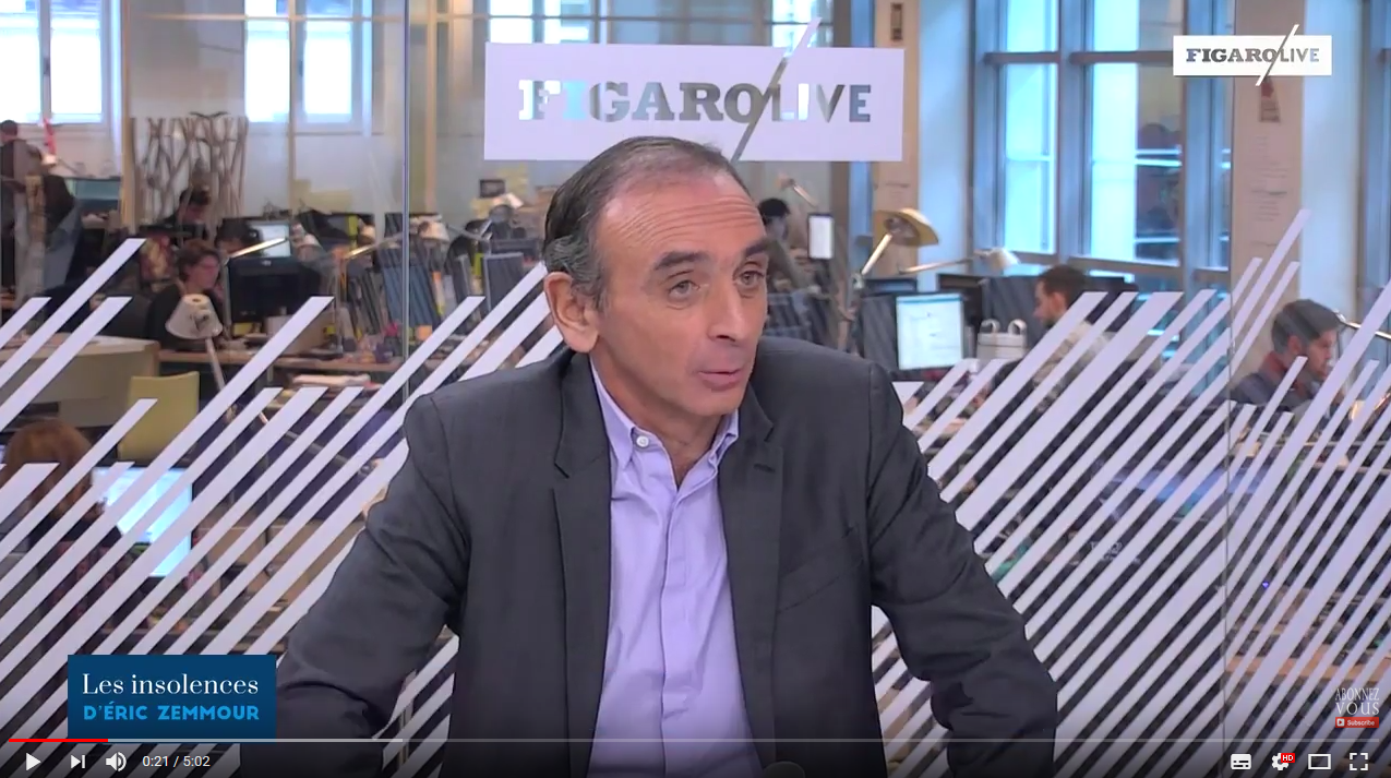 Éric Zemmour : « Ce qui manque à Hollande ? Avoir été président »