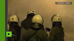 Grèce : la manifestation contre les violences policières dégénère en affrontements à Athènes