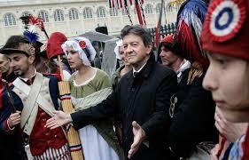 Mélenchon qui se veut l'héritier de Robespierre