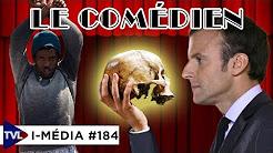 I-Média#184 : Macron à Calais, la comédie de la fermeté