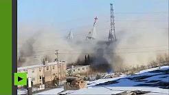 Сhine : les autorités dynamitent une église géante (il est vrai construite sans autorisation)