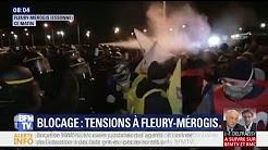 À Fleury-Mérogis, les surveillants de la prison évacués ce matin par les forces de l'ordre