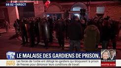 Surveillants agressés : grève dans deux tiers des prisons françaises