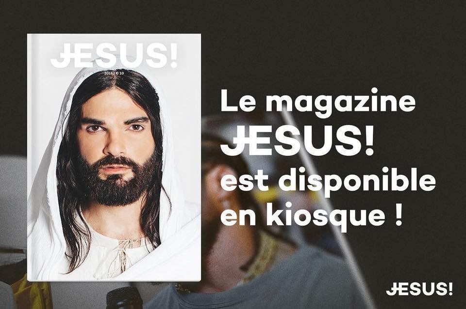 Jésus, dans toutes les bonnes maisons de la presse