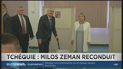 Miloš Zeman (anti-UE, anti-immigration et pro-Russie) est réélu président de la République tchèque face à Jiri Drahos