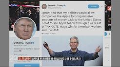 Apple va embaucher 20 000 employés grâce à la réforme fiscale de Trump